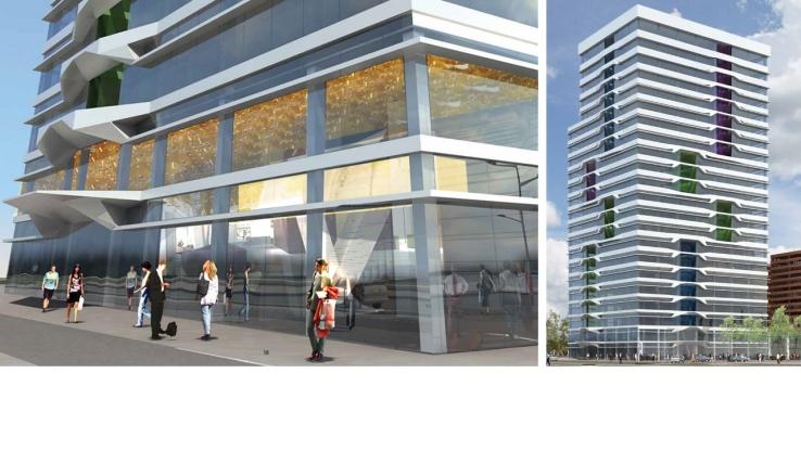 Entree un studio tower amsterdam derksdenboer